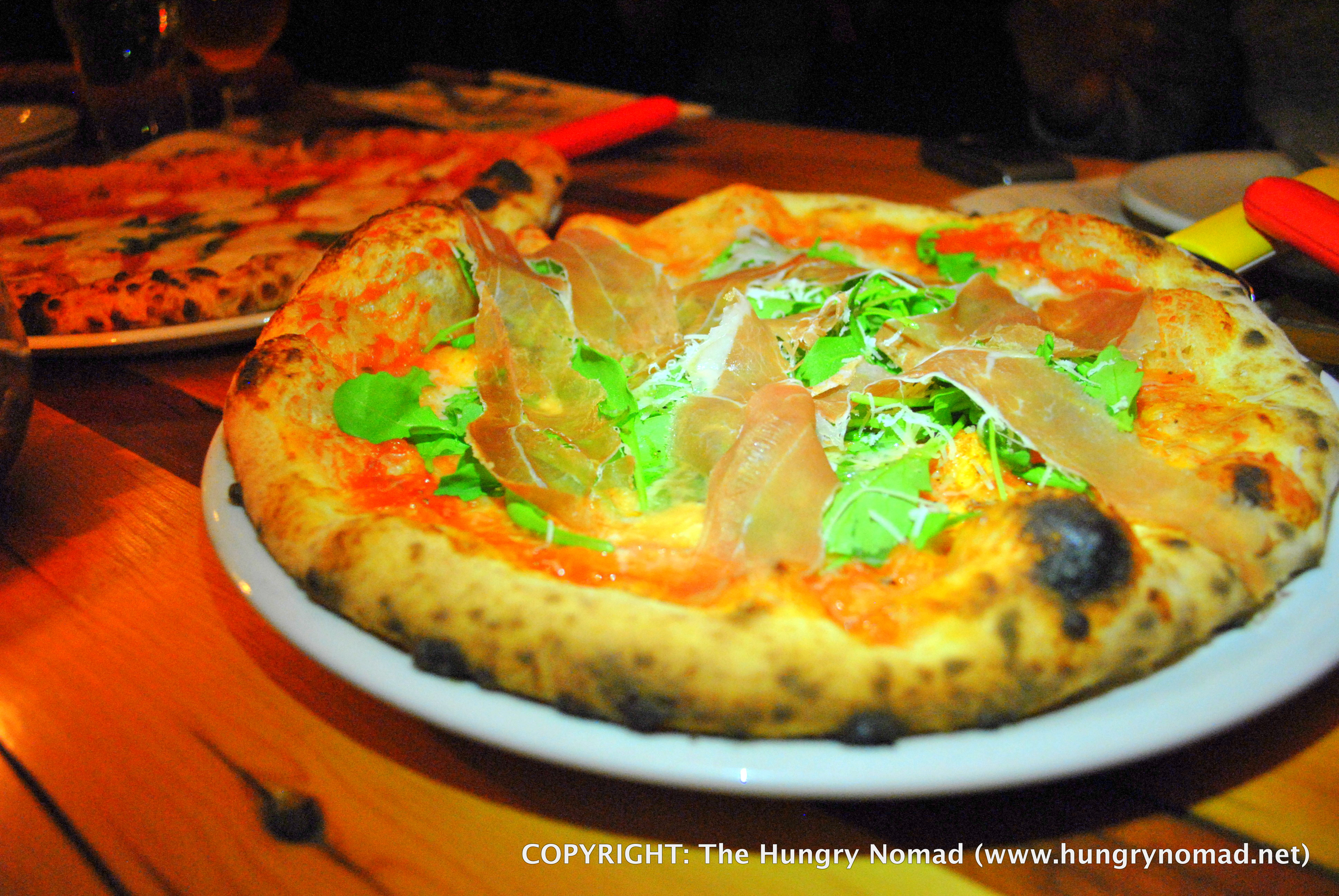 The Hungry Nomad- Nomad Pizza