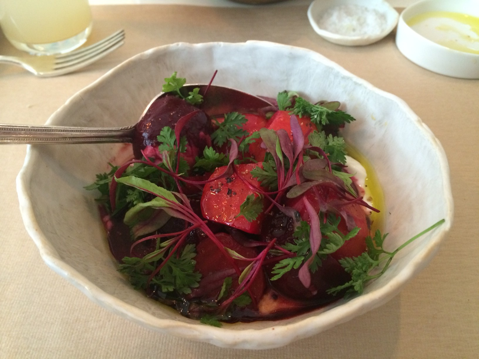 healthiest and hippest lunch at abc kitchen flatiron nyc the